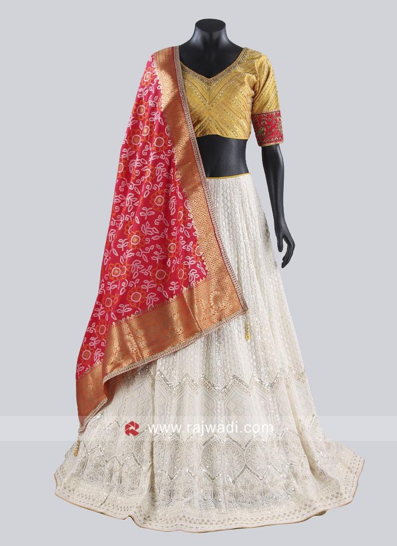 Designer Lucknowi Lehenga Choli