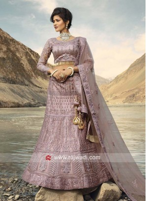 Designer Medium Orchid Color Lehenga Choli