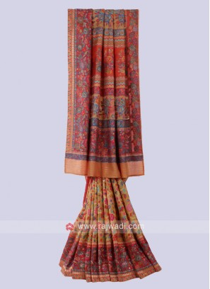 Designer Multi Color Saree