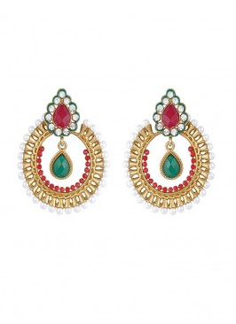 Designer Multicolor Dangler Earring