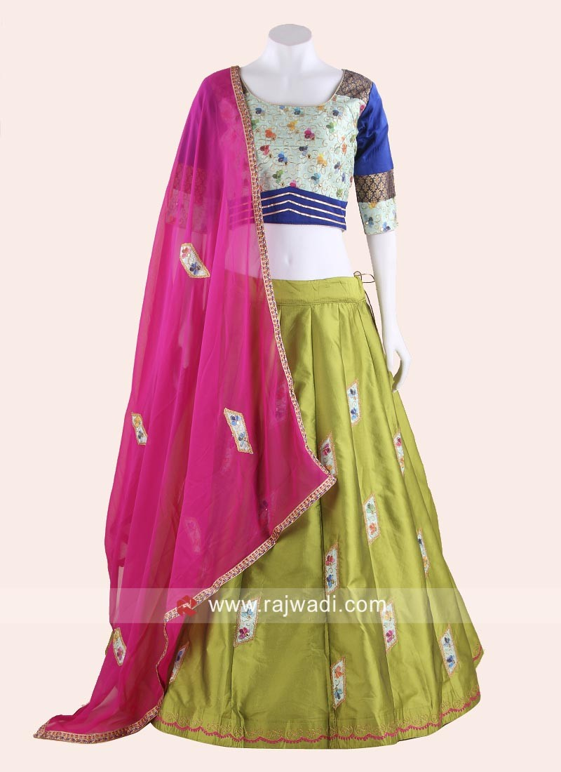 Designer Multicoloured Chania Choli