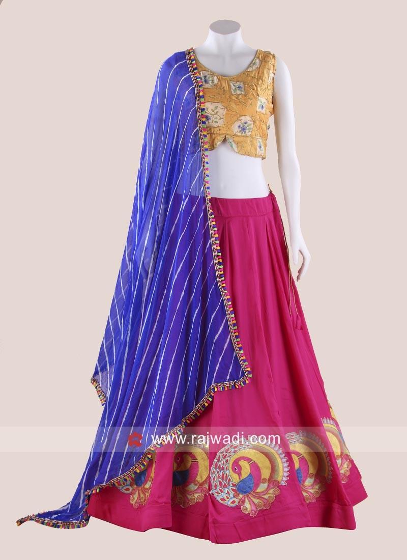 Designer Multicoloured Chania Choli