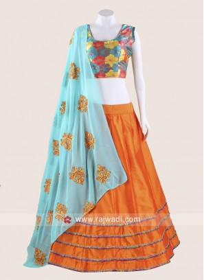Designer Multicoloured Chaniya Choli