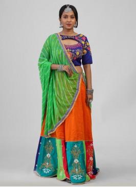 Designer Multicoloured Chaniya Choli