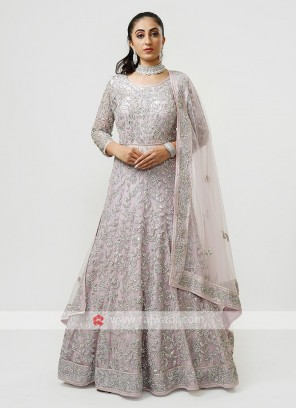 Designer Tail Style Net Gown
