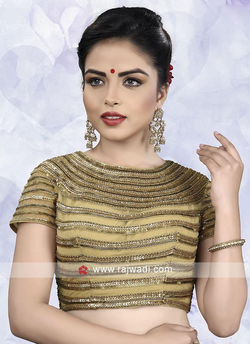 Designer Net Ready Choli