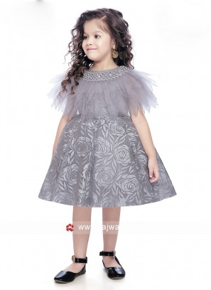 Designer Party Wear Gown for Girls