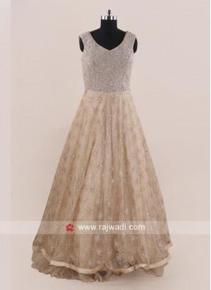 Designer Party Wear Net Gown