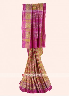 Designer Patola Saree with Blouse