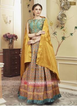 Designer Patola Silk Printed Lehenga Choli