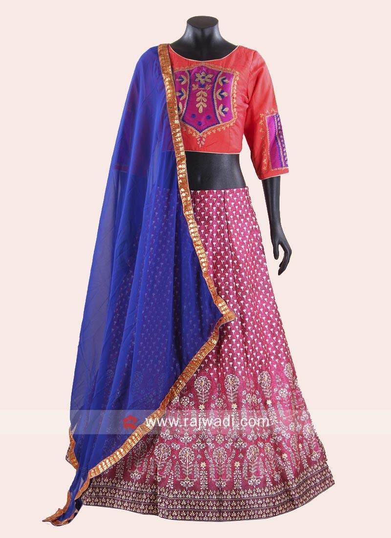 Designer Thread Work Chaniya Choli