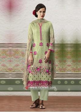Designer Printed Salwar Suit