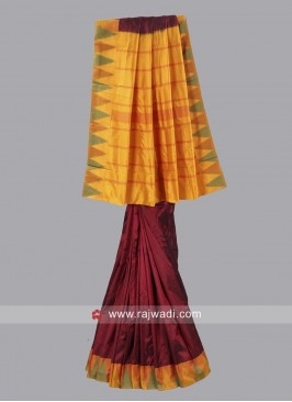 Designer Pure Silk Saree