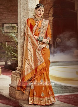 Designer Reception Saree