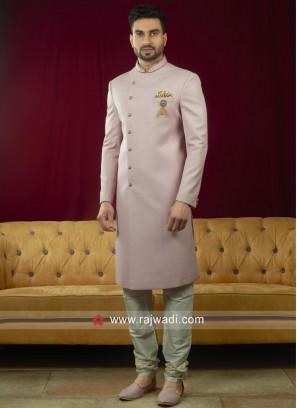 Stylish Silk Fabric Indo Western