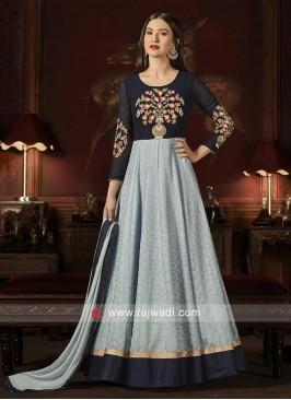 Designer Semi Stitched Salwar Kameez