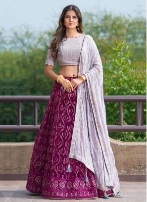 Designer Sequins Work Choli Suit