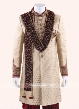 Designer Sherwani Stole for Men