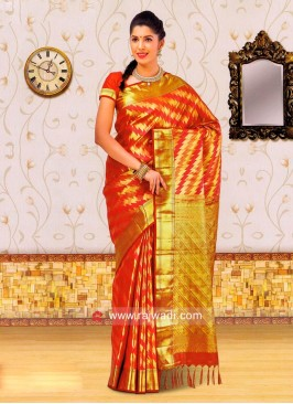 Designer Silk Saree with Blouse