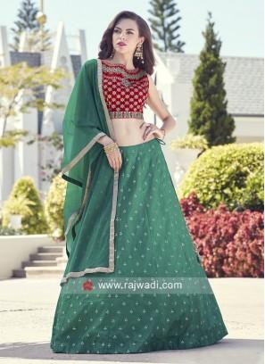 Designer Stitched Lehenga Choli with Dupatta