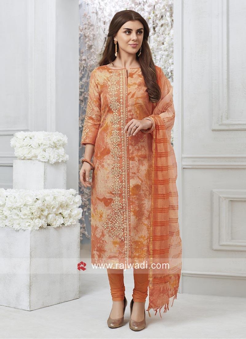 Designer Stitched Salwar Kameez