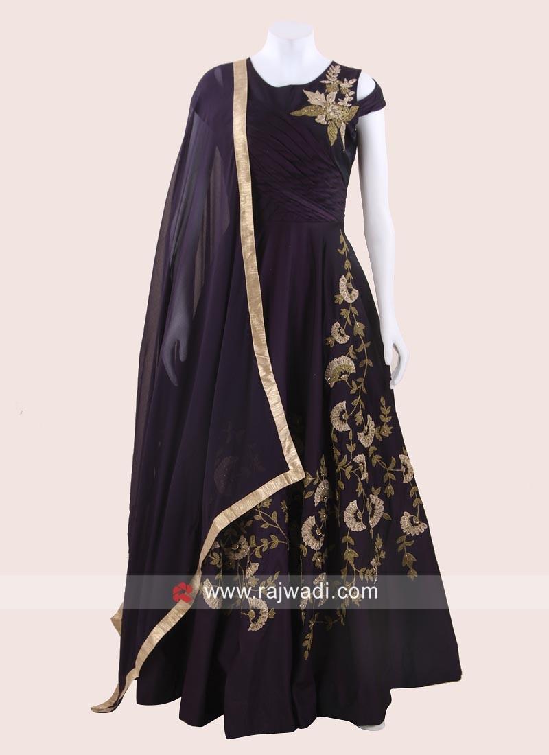 Designer Wedding Anarkali Dress