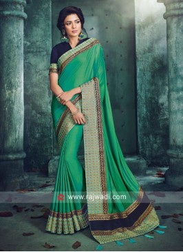 Designer Wedding Art Silk Saree