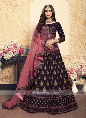 Designer Wedding Embroidered Lehenga