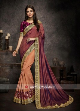 Designer Wedding Half Saree