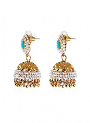 Designer Wedding Jhumki Earrings