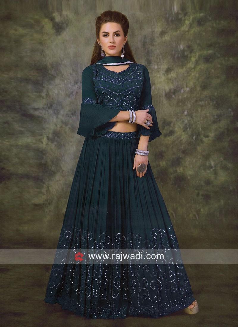 Designer Wedding Lehenga Choli with Dupatta