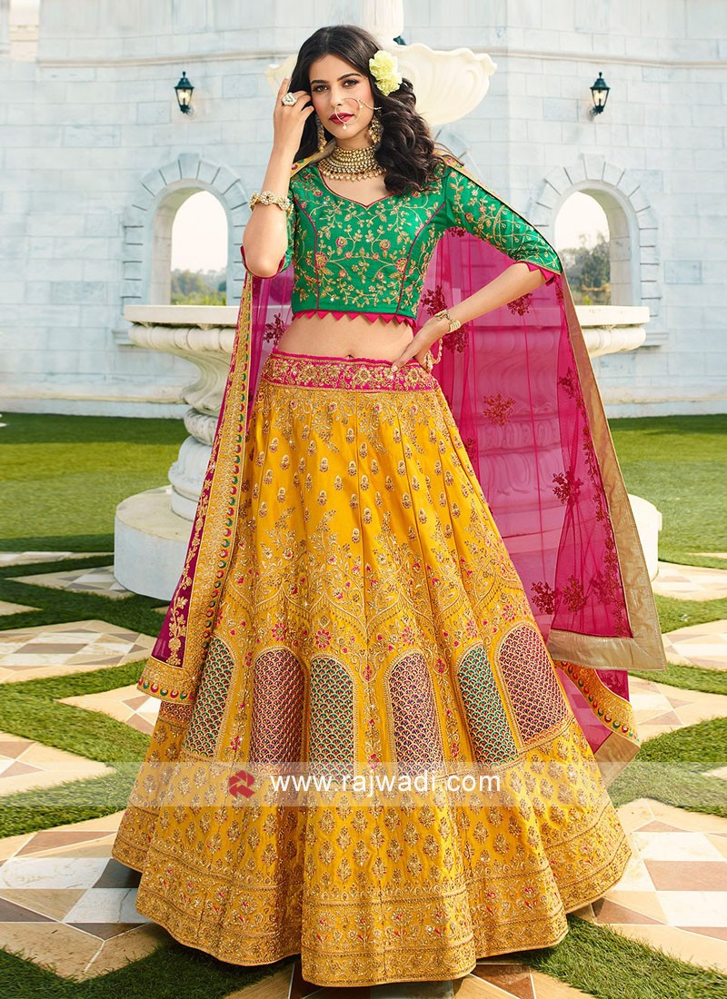 Designer Wedding Lehenga Set