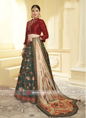 Designer Wedding Patola Lehenga Choli
