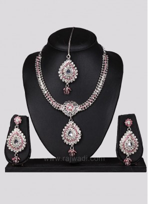 Designer Wedding Pearl Necklace Set