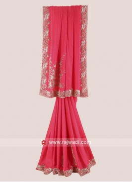 Designer Wedding Reception Saree