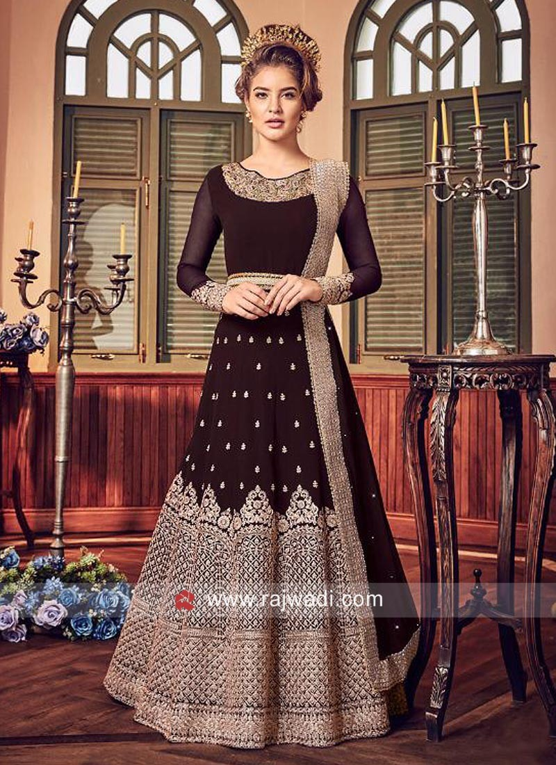Designer Wedding Salwar Suit with Dupatta