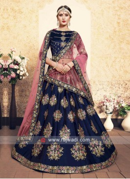 Designer Wedding Unstitched Lehenga