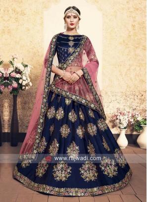 Designer Wedding Unstitched Lehenga