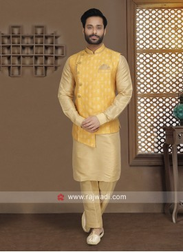 Designer Wedding Wear Nehru Jacket