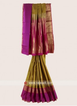 Designer Wedding Woven Saree