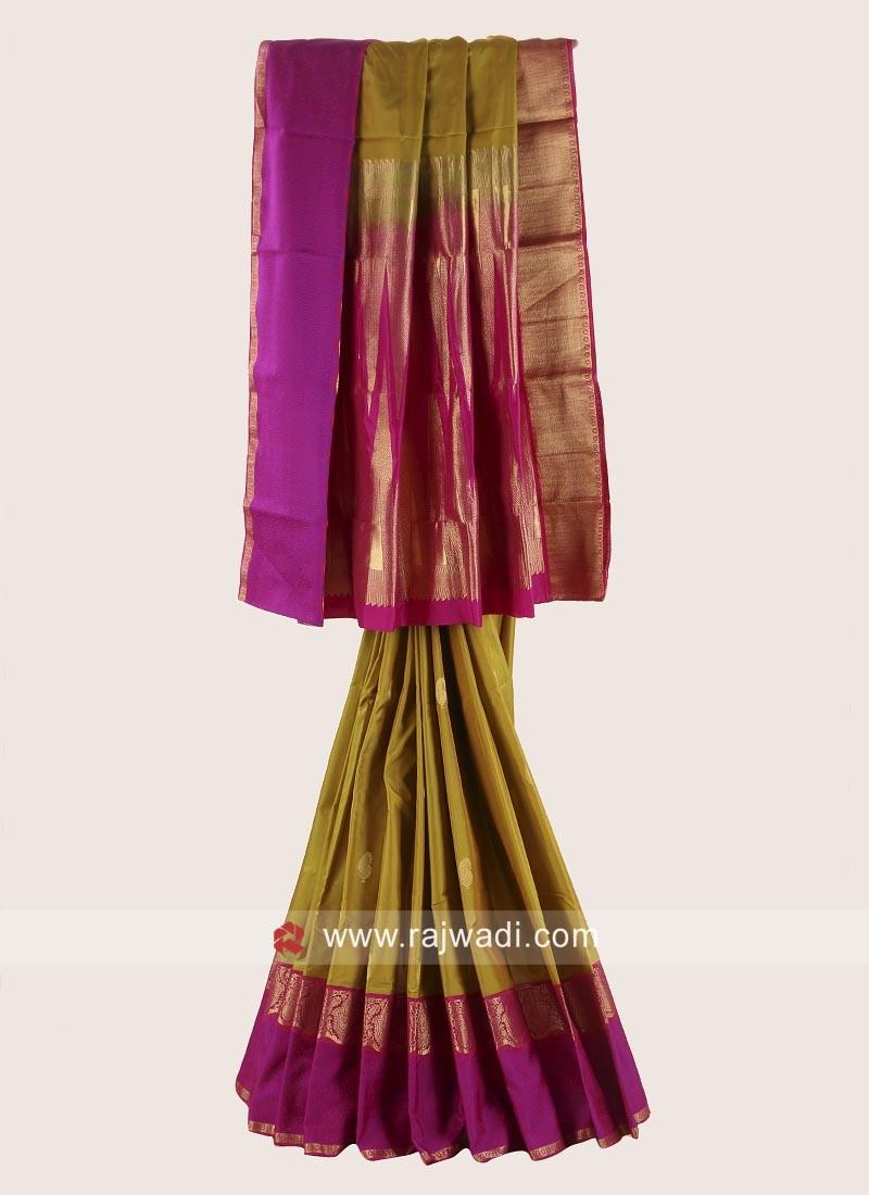 Designer Wedding Woven Saree