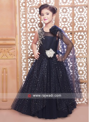 Designer Zari and Tikki Work Gown