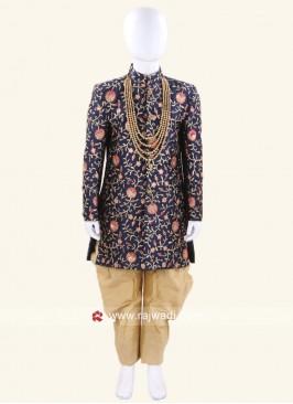 Designer Zari Work Indo Western