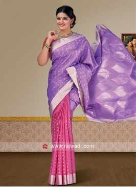 Designer Zari Woven Saree