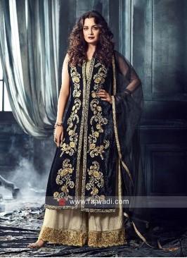 Dia Mirza Heavy Palazzo Suit