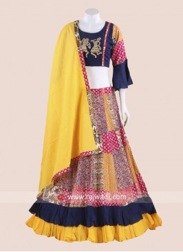 Double Layer Navratri Chaniya Choli