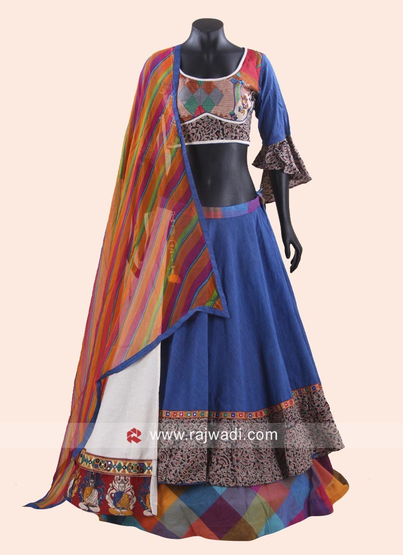 11aff5f8d0 Double Layered Navratri Chaniya Choli. Hover to zoom