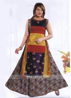 Double Layered Traditional Kurti