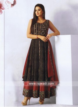 Double Layered Wedding Kurti