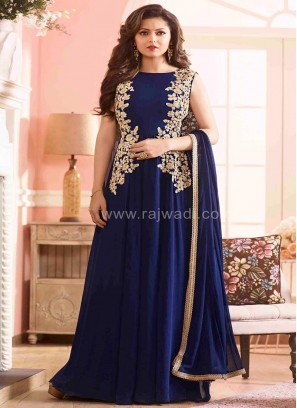 Drashti Dhami Anarkali Dress Material